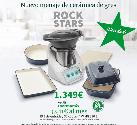Thermomix® ROCK STARS: Desde 32,11€ al mes