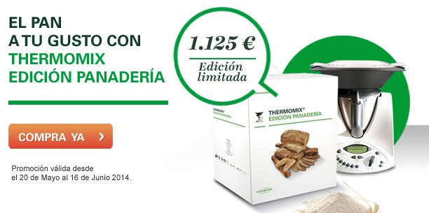Nueva promoción Thermomix® . Edición Panadería