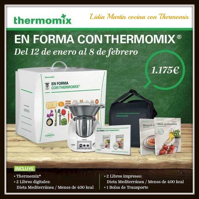 Nueva edición 'En forma con Thermomix® ' ¡Aprovéchala!