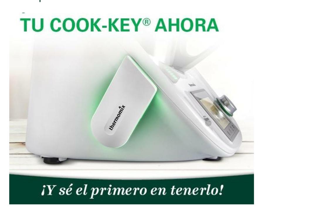 YA LLEGÓ EL COOK-KEY