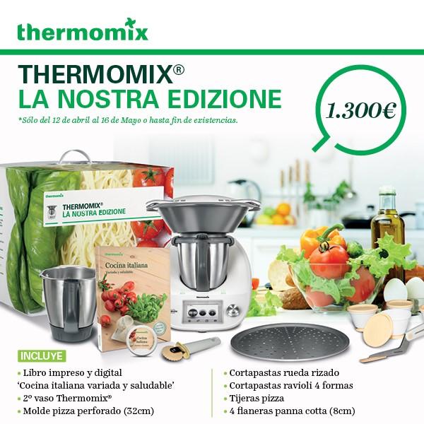 Nueva promoción de Thermomix® : 'La nostra edizione'