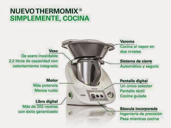 Qu es thermomix y para qu sirve el robot de cocina tm5 noticias blog blog de lidia - Thermomix o robot de cocina ...