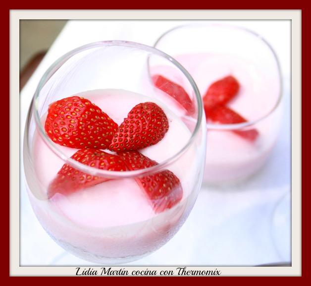 Receta de Natillas de fresas con Thermomix®