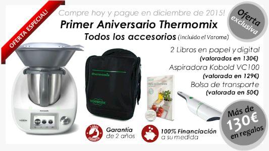 Aprovecha la nueva oferta de Thermomix® : ¡Compra ahora y paga en diciembre!