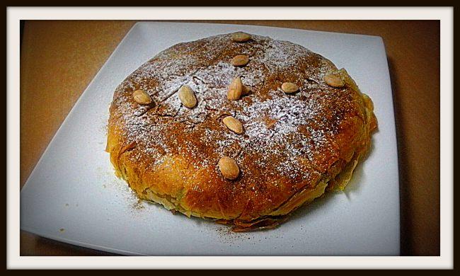 Receta de Pastela marroquí de pollo con almendras con Thermomix®