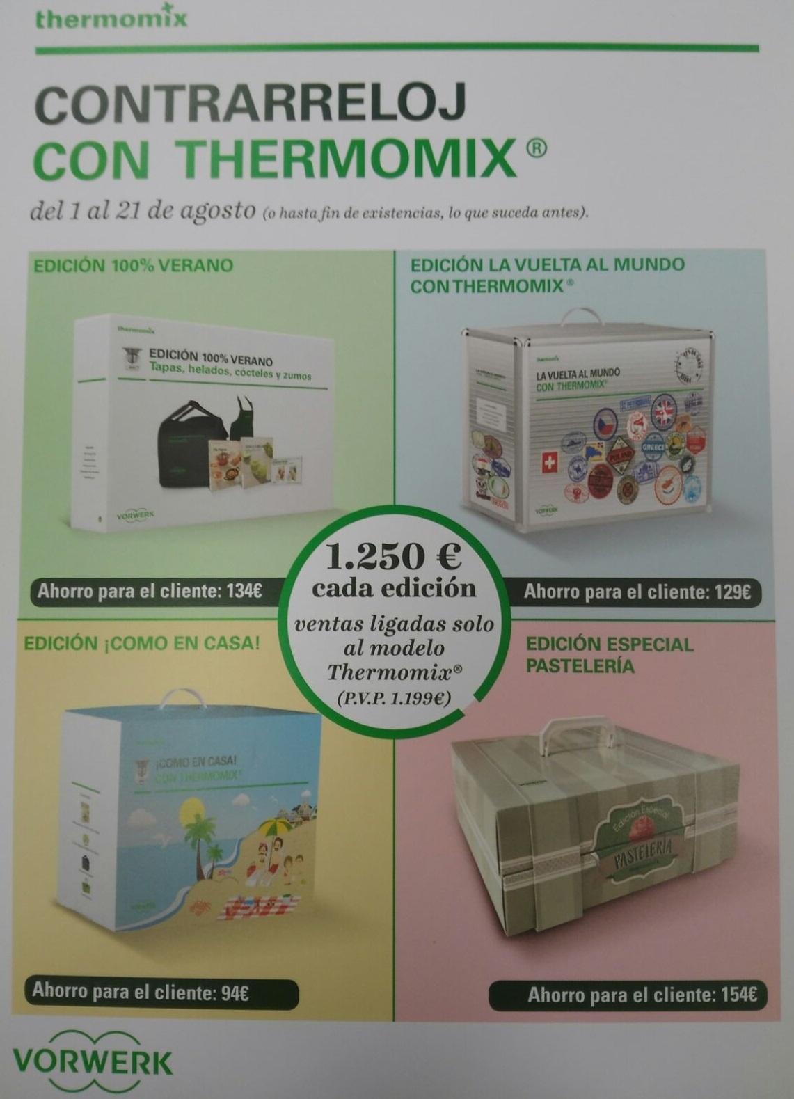 Contrarreloj con Thermomix®