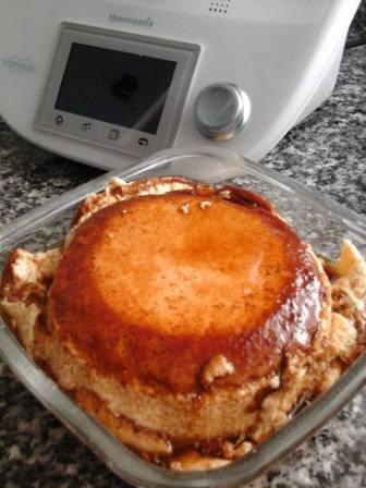 Flan de huevo con Thermomix®