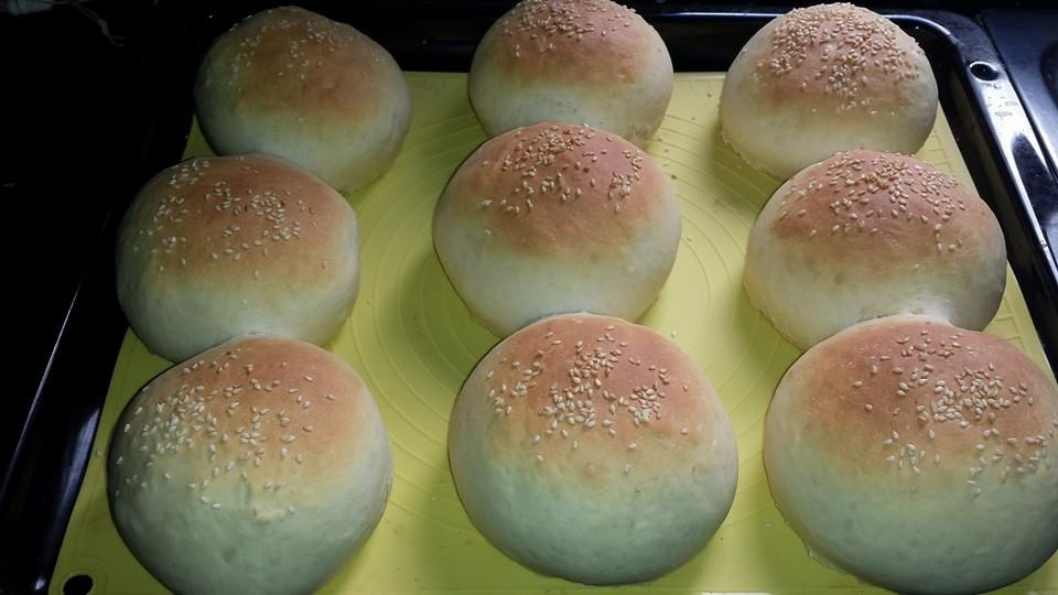 Pan de hamburguesas con Thermomix®
