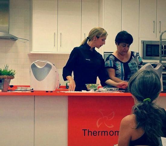 Lidia Martín imparte cursos gratuitos de cocina con Thermomix® en Málaga y Fuengirola
