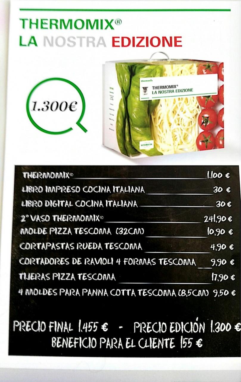 Ahorra hasta 150€ con 'La Nostra Edizione' de Thermomix®