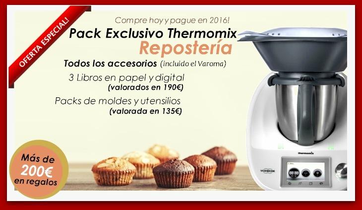 Reserva tu Thermomix® TM5 Edición repostería ¡Se agotan rápido!