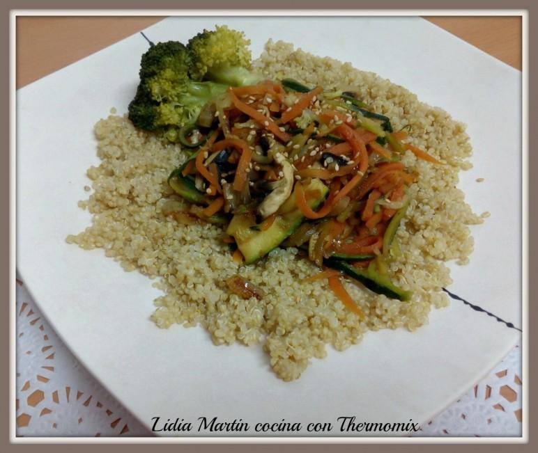Receta de quinoa con verduras con Thermomix®