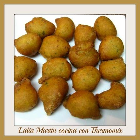 Receta de Buñuelos de bacalao con Thermomix®