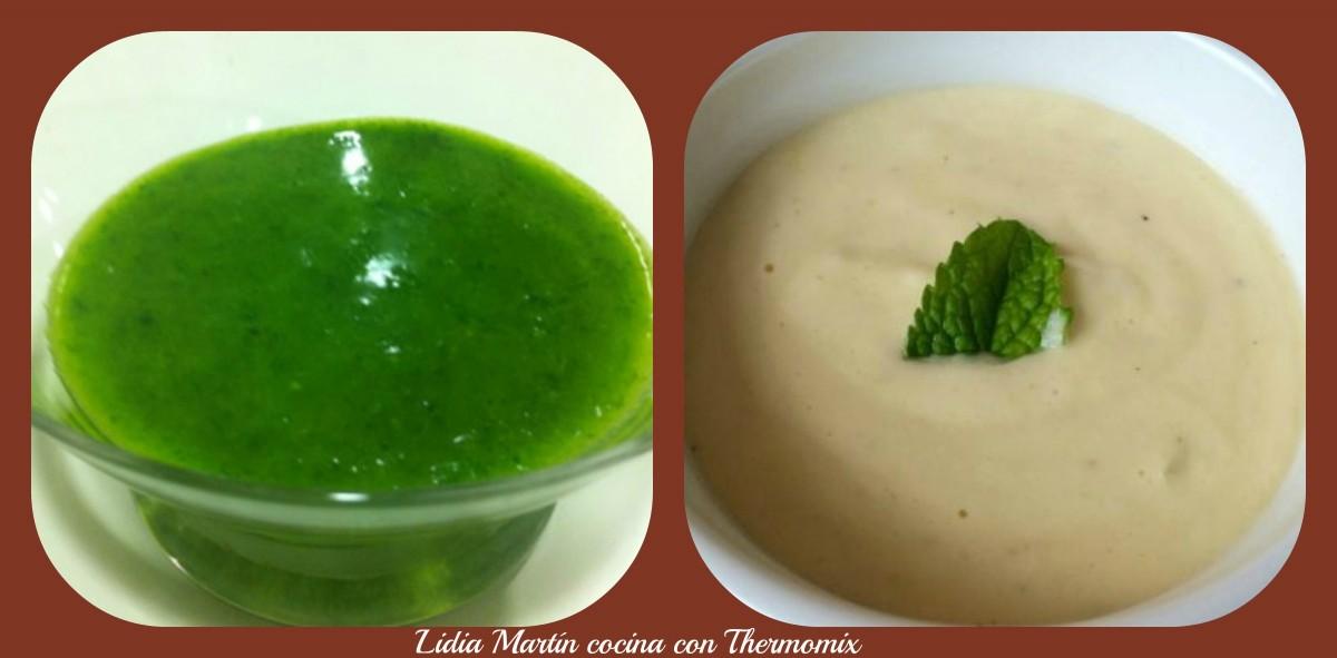 Salsa verde o Salsa tres quesos con Thermomix®