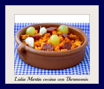 Receta de Migas con chorizo y uvas con Thermomix®