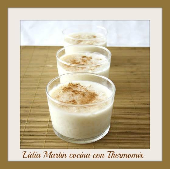 Receta de arroz con leche con Thermomix®