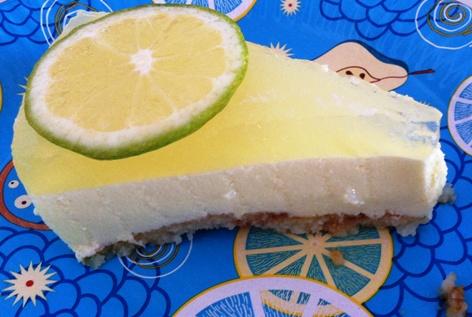 Tarta de Gin Tonic sabor limón