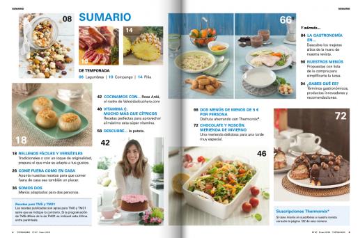 La revista Thermomix® te trae recetas para comer fuera como en casa