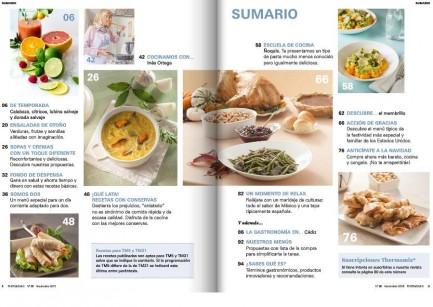 La revista Thermomix® nos trae las mejores recetas de sopas y cremas con un toque diferente