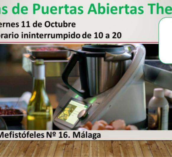 JORNADAS DE PUERTAS ABIERTAS EN Thermomix® MALAGA CALLE MEFISTOFELES 16
