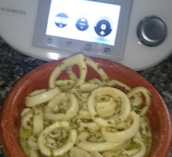 calamares al limón con Thermomix®