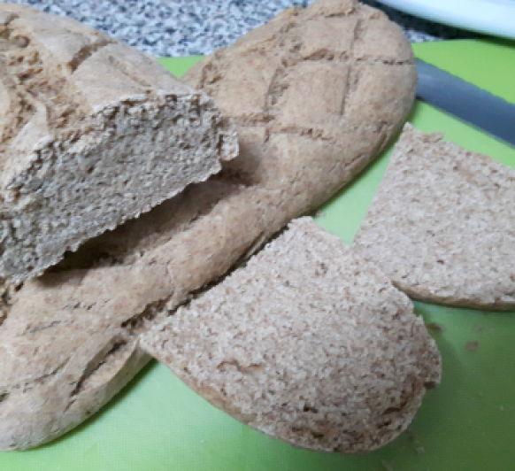 Pan de espelta y avena