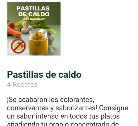 PASTILLAS DE CALDO CASERAS