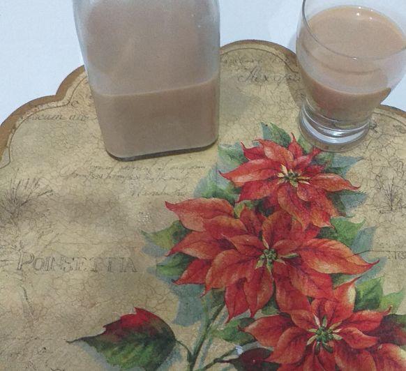 Crema de Whisky y turrón de chocolate Thermomix® Málaga
