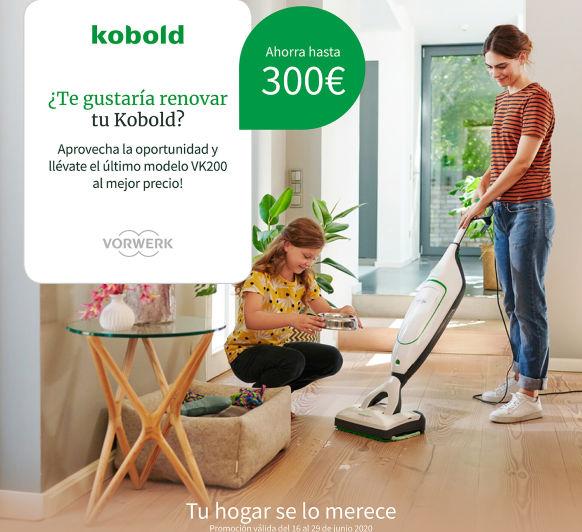 Soluciones Vorwerk para el hogar: Thermomix® y kobold hasta el 27 de Julio en condiciones exepcionales