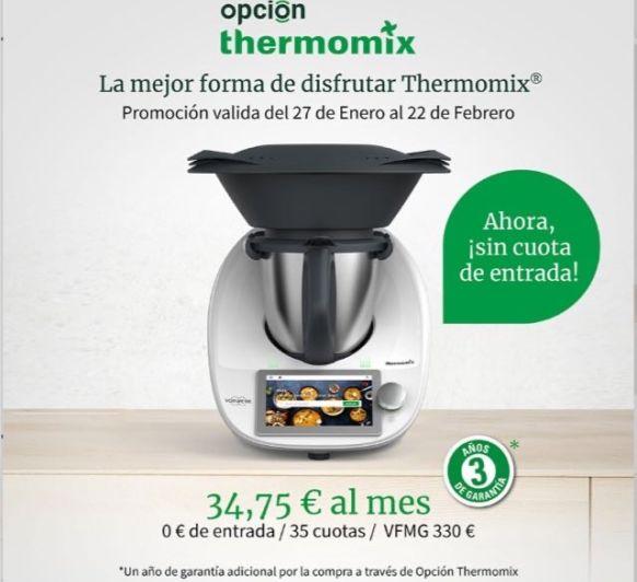 FINANCIA Thermomix® TM6 SIN ENTRADA