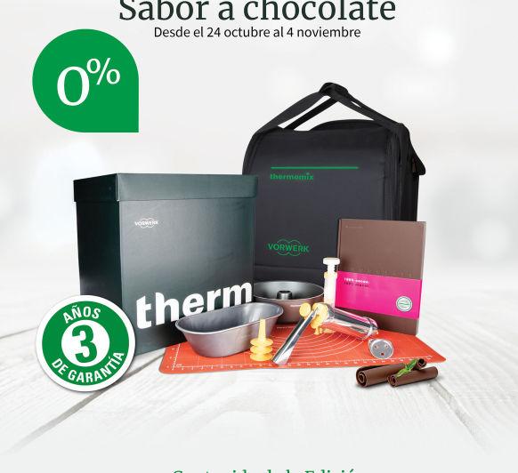0% INTERÉS EDICIÓN SABOR A CHOCOLATE. LIMITADO. Thermomix® MALAGA C/ MEFISTÓFELES 16