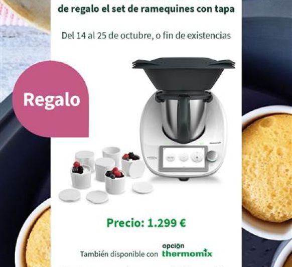 REGALO CON LA Thermomix® SET DE RAMEQUINES CON TAPA
