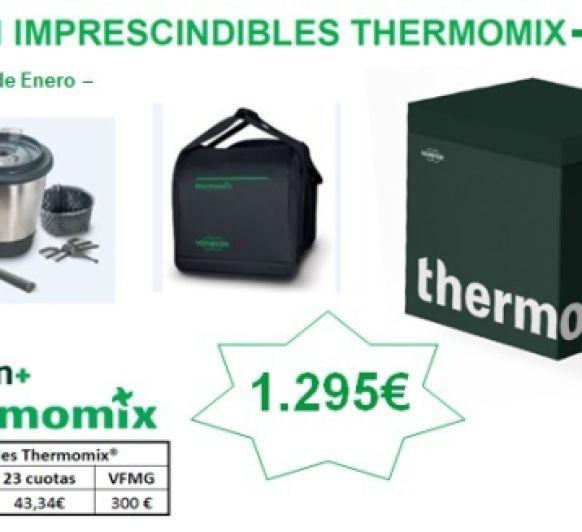 Nueva edición Thermomix® con dos vasos completos y bolsa de transporte