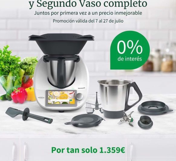 Thermomix® Ediccion 0% interés y 2⁰vaso