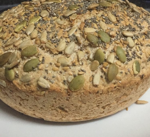 Pan rapido integral con semillas