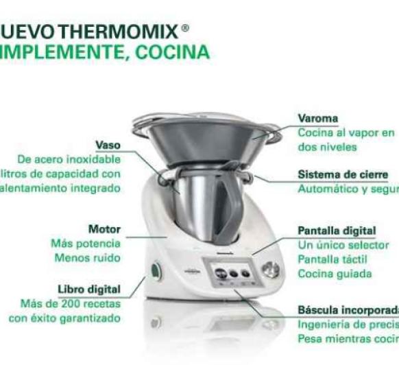 Ya esta aquí el nuevo modelo Thermomix® TM5!