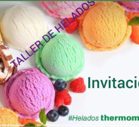 TALLER ESPECIAL DE HELADOS