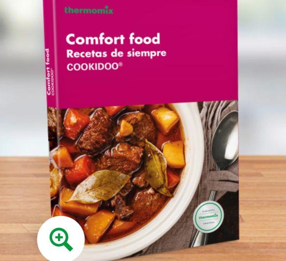 LIBRO DE COCINA - COMFORT FOOD, RECETAS DE SIEMPRE