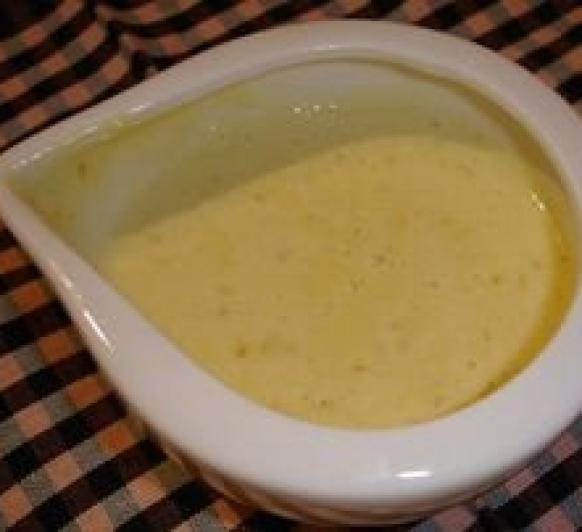 Salsa de Cebolla con toque de Mostaza