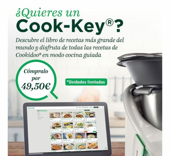 Consigue tu Cook-key a 49,50