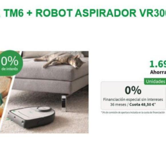 Compra tu Thermomix® TM6 con la mejor financiacion 0% de interes