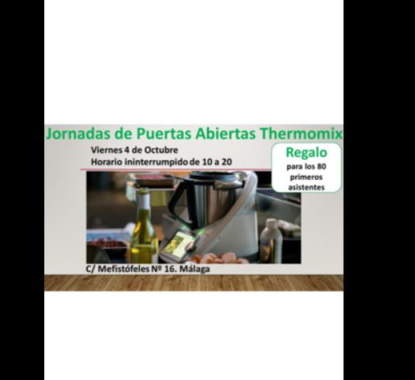 Jornadas puertas abiertas en Thermomix® Málaga