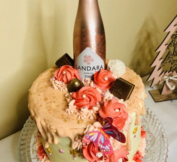 TARTA ROSE GOLD