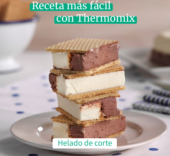 tipico helado de corte con Thermomix®
