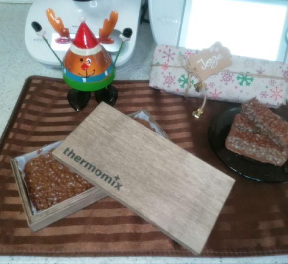 Turrón de chocolate crujiente tipo ''Suchart'' hecho en mi Thermomix® tm6 Málaga