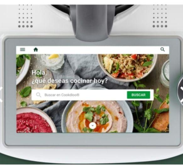 El Nuevo Thermomix® TM6™ con acceso directo a Cookidoo® Imagina tener acceso al libro de recetas