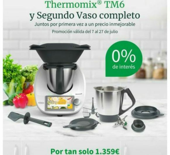 0% SIN INTERESES TU Thermomix®