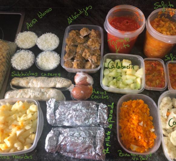 """Batch Cooking, una """"pechá"""" de cocinar"""