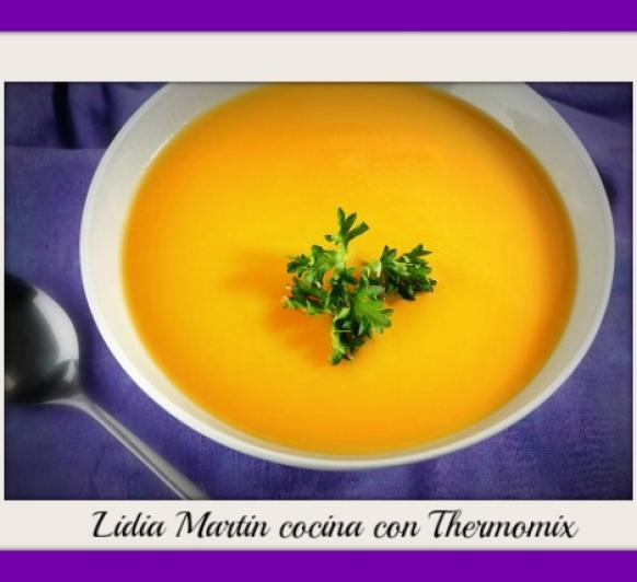 Receta de crema de zanahoria, puerros y patatas