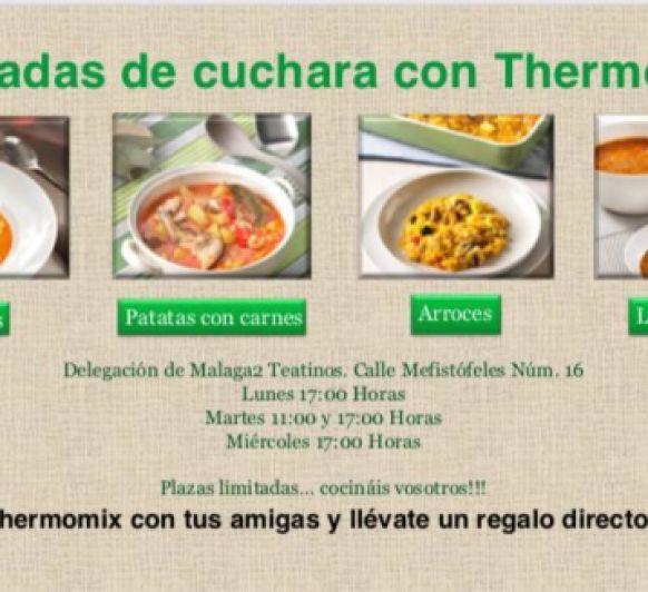 JORNADA DE CUCHARA CON Thermomix® EN LA DELEGACION MALAGA 2